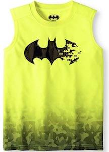 Batman Logo Yellow Tank Top