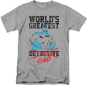 Batman World's Greatest Dad T-Shirt