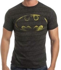 Faint Batman Logo T-Shirt