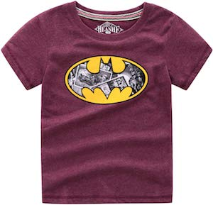 Kids Batman Comic Logo T-Shirt