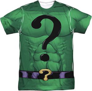 The Riddler Costume T-Shirt