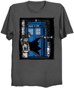 Batman Meets The Doctor T-Shirt