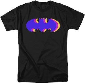 Stacked Batman Symbols T-Shirt