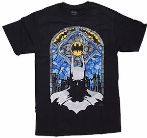 Batman Stained Glass T-Shirt