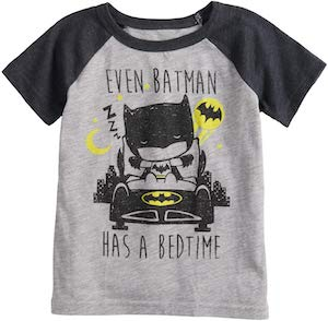 Batman Bedtime Toddler T-Shirt