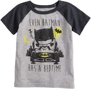 Batman Bedtime Toddler T-Shirt