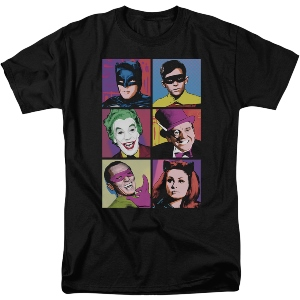 Batman TV Series Characters T-Shirt