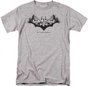 Batman 80th Anniversary Gotham Logo T-Shirt