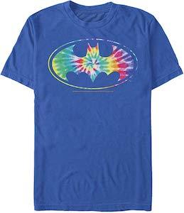Tie Dye Batman Logo T-Shirt