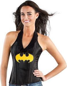 Batman Logo Corset Top