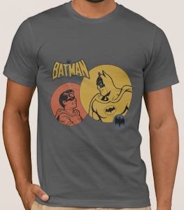 Batman And Robin In Search Lights T-Shirt