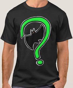 Batman And Riddler Logo Meet T-Shirt