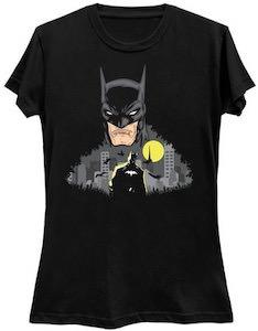 Batman Watching Over Batman T-Shirt