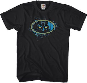 Batman Logo With Eyes T-Shirt