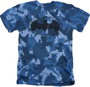 Batman Blue Camo T-Shirt