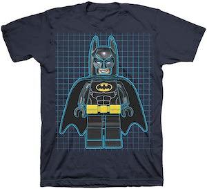 LEGO Batman Grid T-Shirt