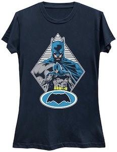 Batman Staring At His Logo T-Shirt