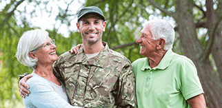 We offer military and senior citizen discounts at the Great Big Greenhouse.