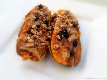 Sweet potato breakfast. C: Emma Haarsma