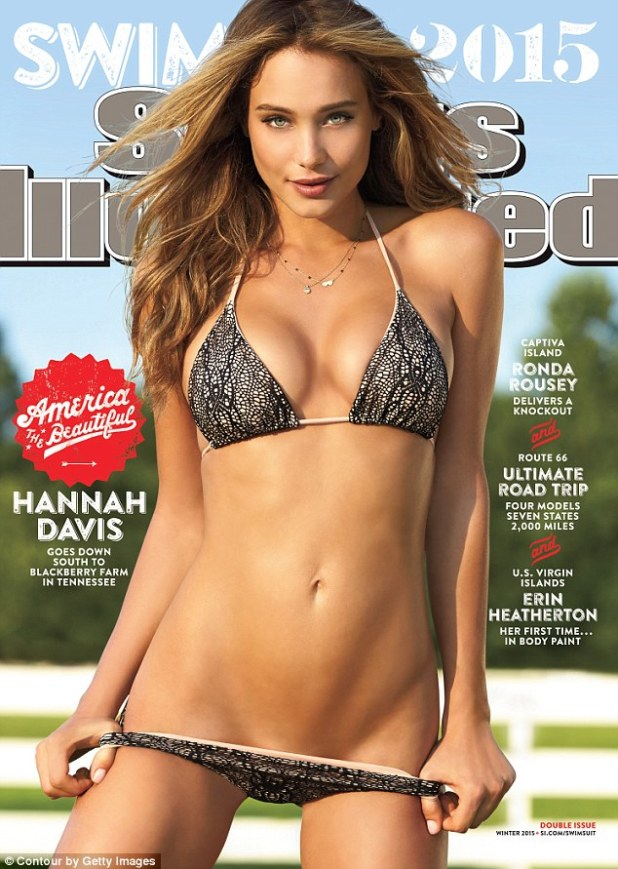Hannah Davis on the cover of ACSports Illustrated
