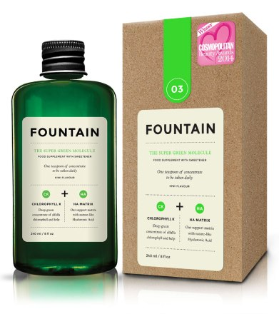 Review FOUNTAIN Super Green Molecule