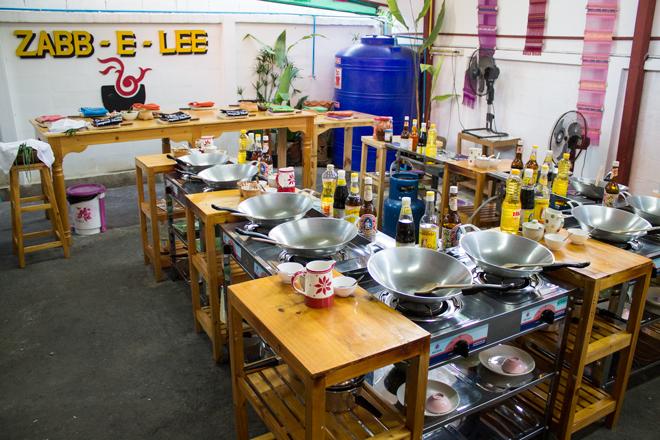 Thailand chiang mai cooking school zabb-e-lee
