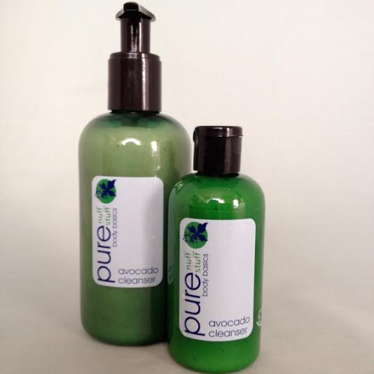 avocado cleanser pure nuff stuff