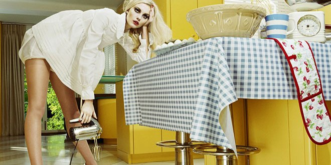 Miles Aldridge Model: Caroline Trentini Vogue Italia Beauty March 2008