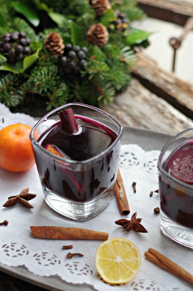 healthier mulled wine