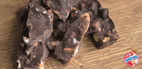 Salty Dark Chocolate Delight with Goji's and Almonds