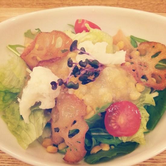 Model food hotspot 3: brown rice, tokyo