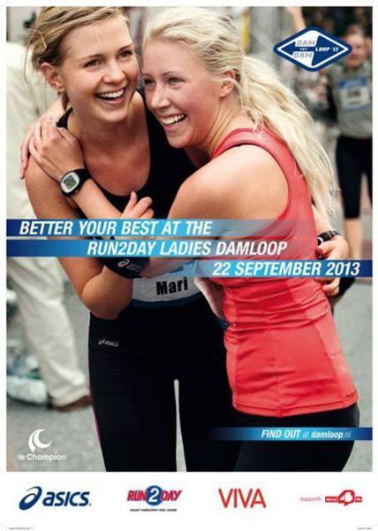 Ladies Damloop 2013