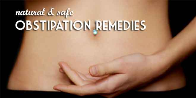 natural and safe obstipation remedies