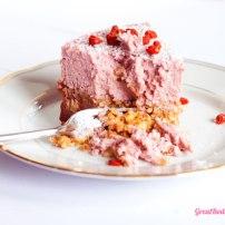 Luscious Strawberry Coconut Cake { Egg, Lactose & Gluten Free }