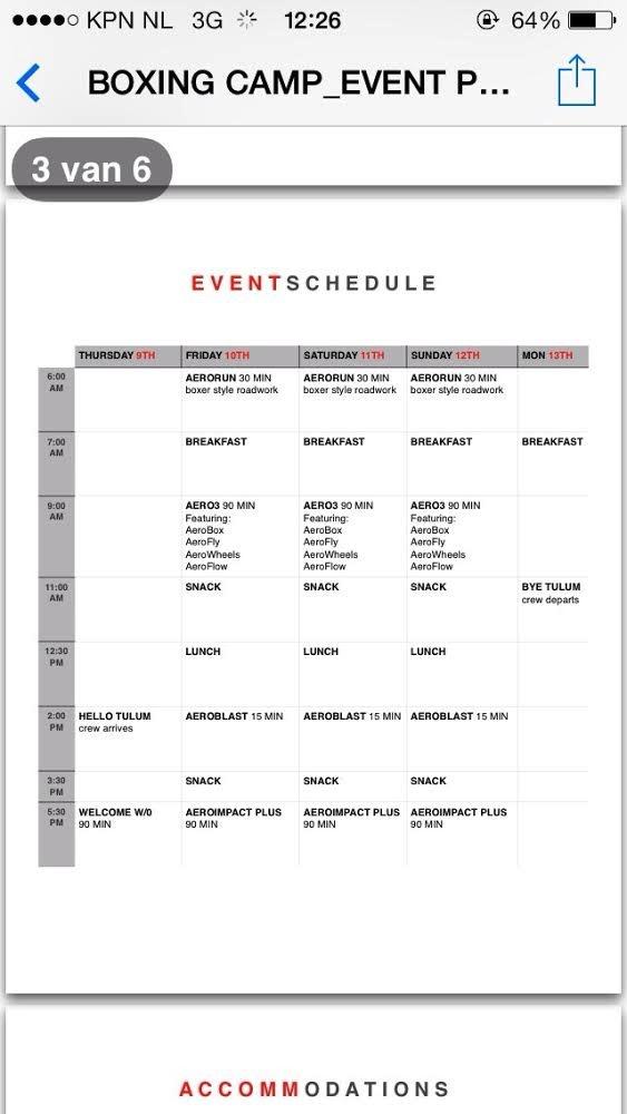 training schedule Michael Olajide bootcamp victorias secret model romee strijd