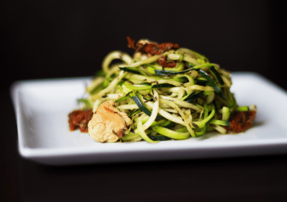 Today's Lean Model Lunch: Zucchini Noodles