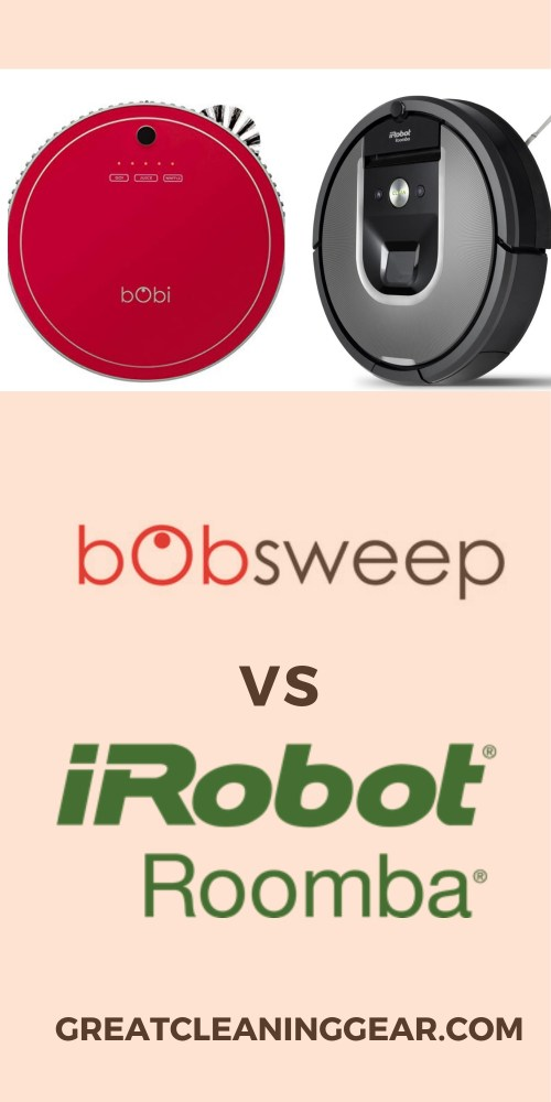 Bobsweep vs Roomba Robot Vacuums