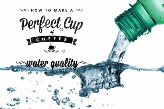 Coffee Water to make the perfect cup of coffee