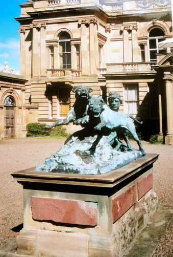 Hounds in Leash, 1888-9, Harry Bates, Gosford House