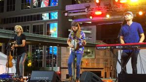 East Pointers, 7 July 2018, Yonge-Dundas Square, Toronto, ON