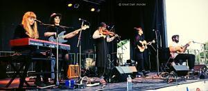 Les Poules à Colin, Festival Folk sur le Canal, Montréal, Québec, 16 June 2017