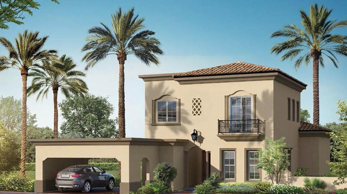 Lila villa for sale in Arabian Ranches