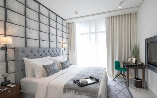 master bedroom for sale in business bay water canal