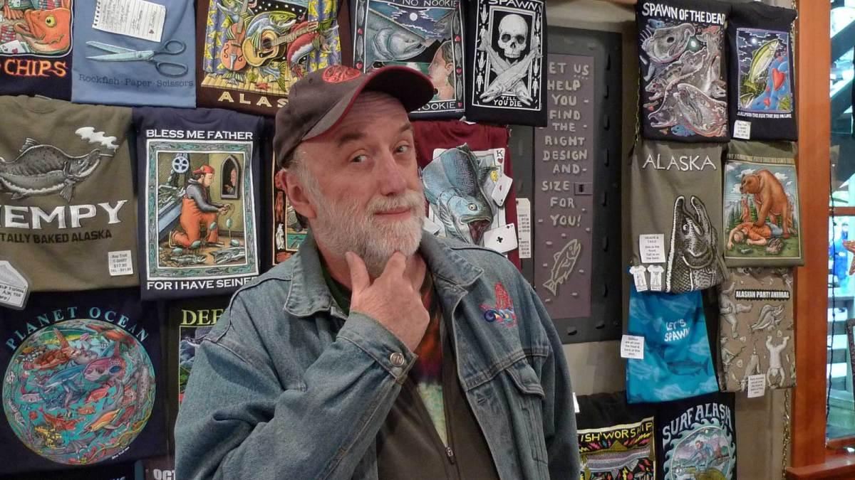 Local artist Ray Troll