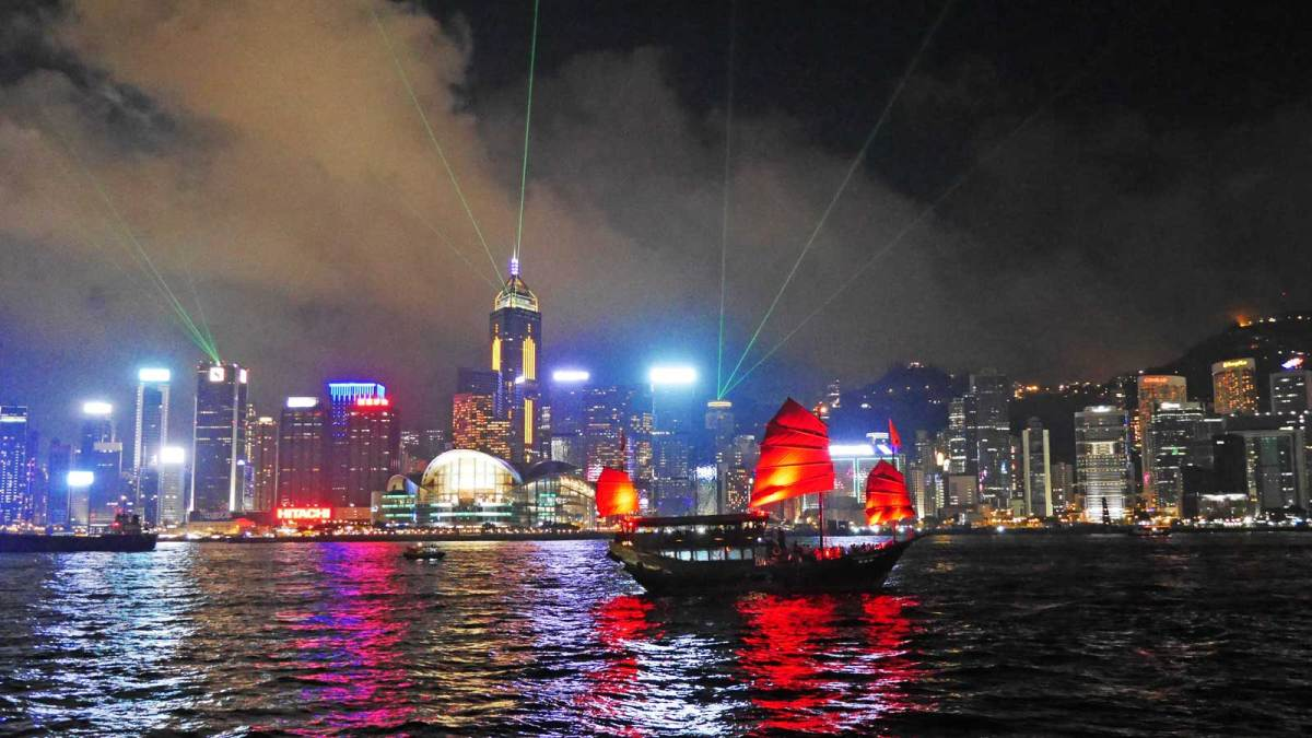 Hong-Kong-light-show
