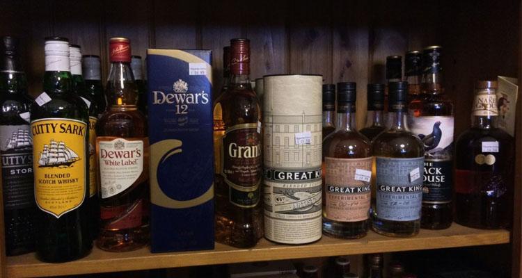 Whisky retailing