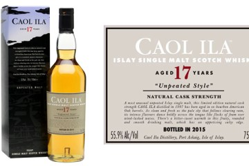 Caol Ila 17 Year Old
