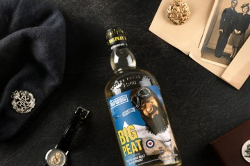 Big Peat Unveils Charitable Bottling in Aid of the RAF Benevolent Fund