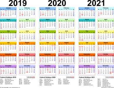 calendar-2019-2020-2021