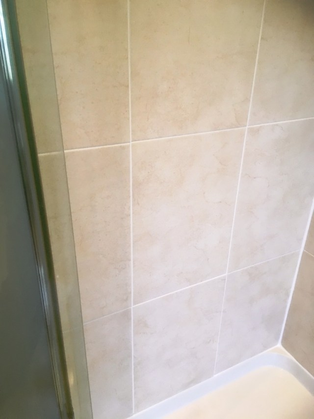 Shower Cubicle After Restoration Chorlton